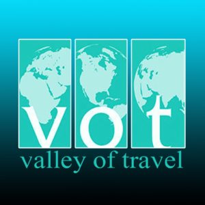 VALLEY OF TRAVEL LOGO